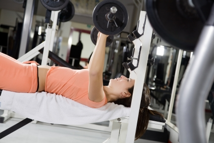 Rutina de entrenamiento de pecho para mujeres