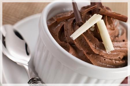 chocolate mousse Consejos para no saltarte la dieta incluso en restaurantes