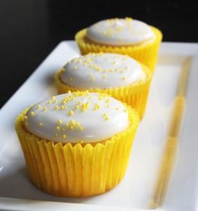 Cupcakes de Limón Light