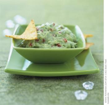 Recetas Light: Guacamole para Nachos