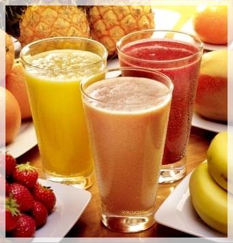 zumos de naranja guayaba1 Estoy a dieta ¿Qué bebidas me recomiendas?
