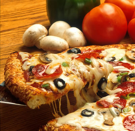 Recetas Light: Pizza Sin Harina