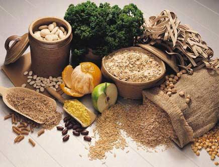 Alimentos que contienen más fibra