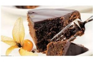 Receta Light: Pastel con chocolate fondant