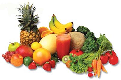 Hazte más atractivo comiendo frutas y verduras
