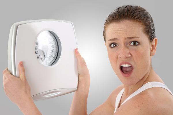 Cuando pesarte para ver tu peso real