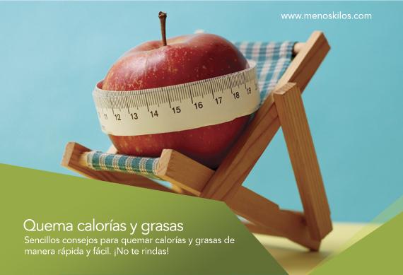 3 Tips para quemar calorías y grasas rápidamente