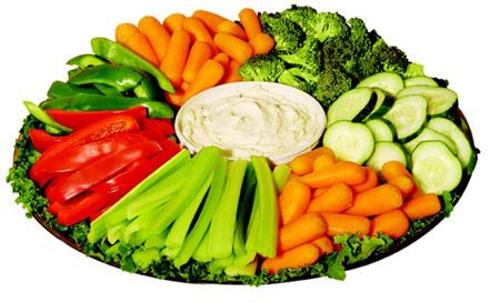 Los beneficios de comer comida cruda