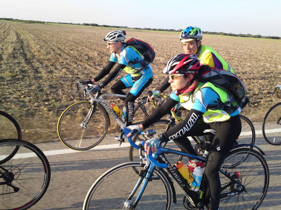 Precauciones al montar en bicicleta