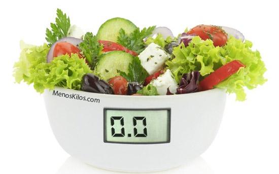 Alto dietas balanceada para perder peso