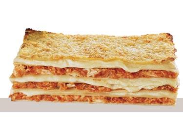 Almuerzo para adelgazar con DietaPack: Lasaña de Pollo y Verduras