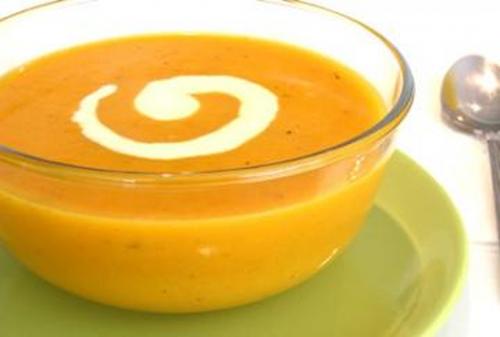 Recetas Light: Sopa de Zanahoria