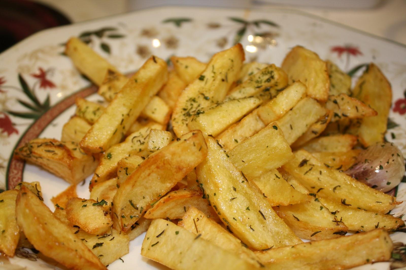 Recetas light: Patatas Fritas