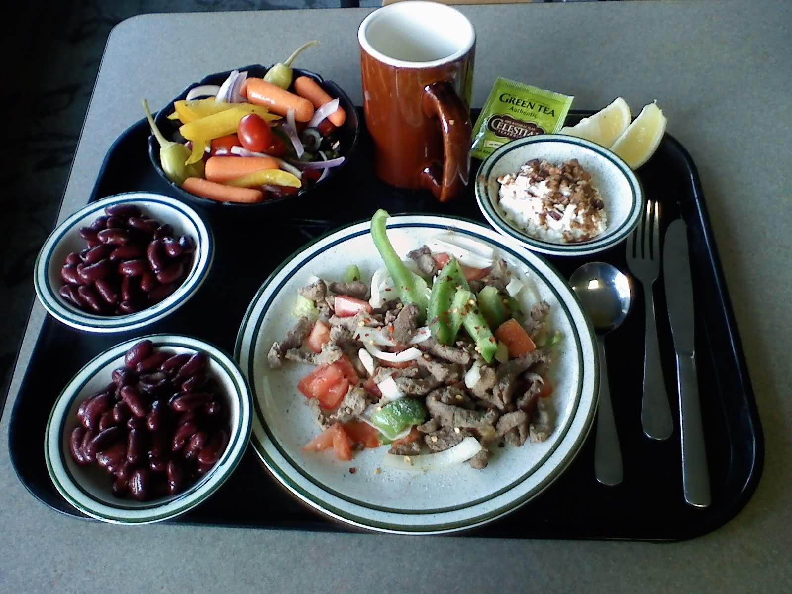 Lunes de dieta: ¡Volumen máximo!