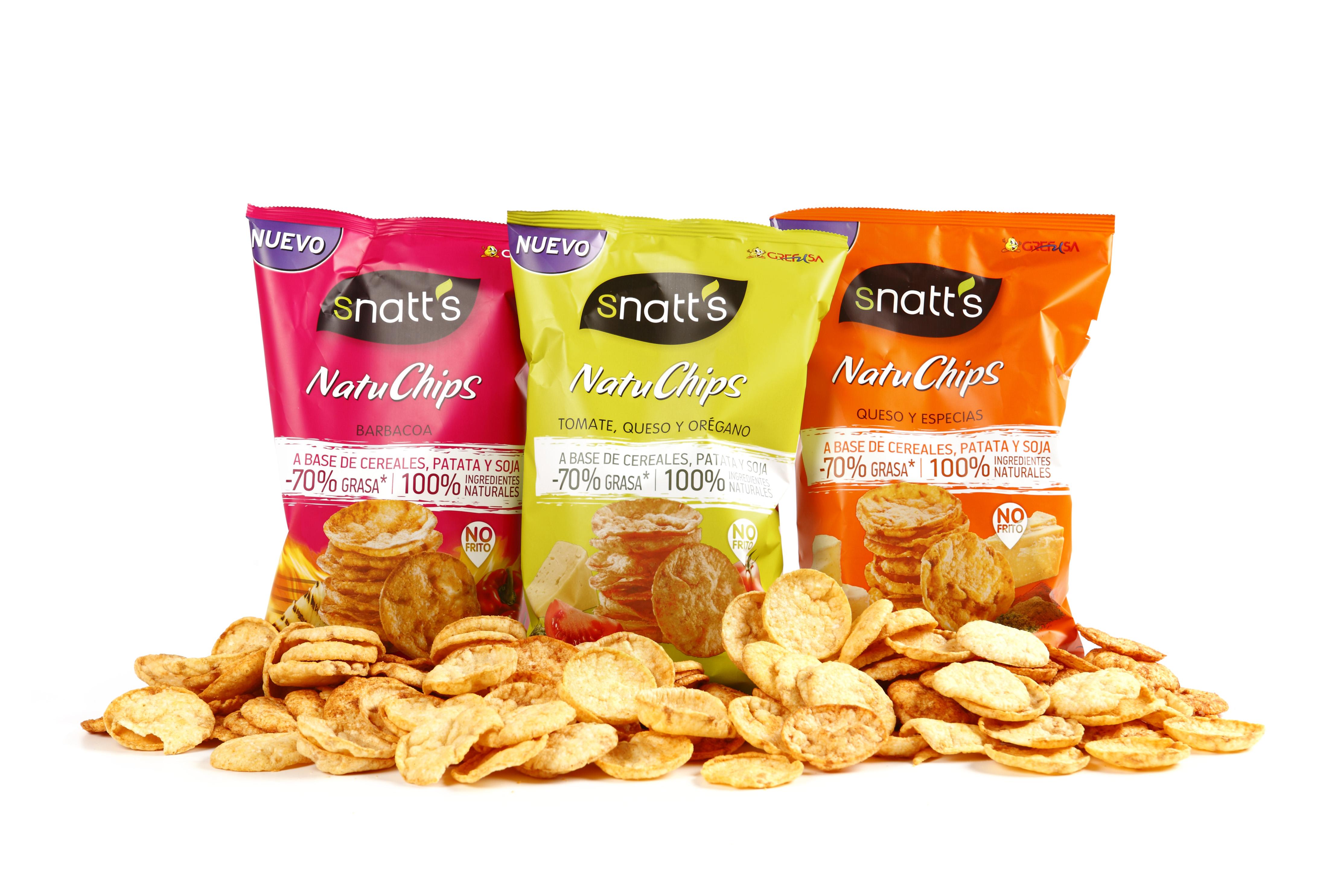 ¡Un snack para cuidar la dieta! Natuchips