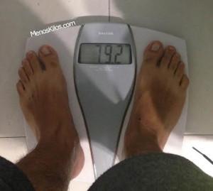 Cómo perder 800 gramos en una semana
