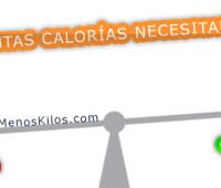 ¿Cuántas calorías necesitamos?
