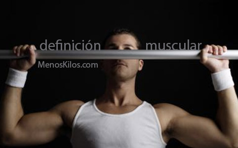 definición muscular pautas