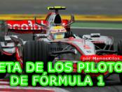 ¿Qué dieta sigue un piloto de Fórmula 1?