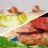 Menú sin gluten: Cogollos con anchoas y hamburguesa con higos