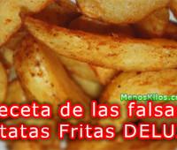 Falsas patatas fritas DELUXE